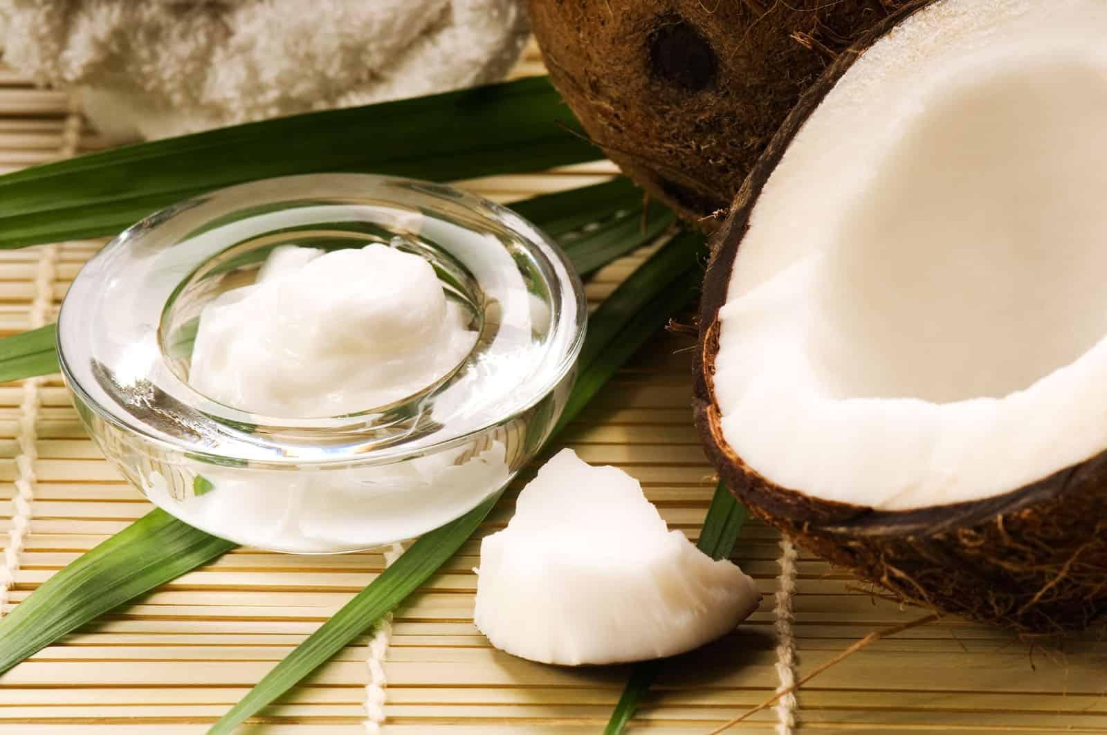 Aceite vegetal de coco