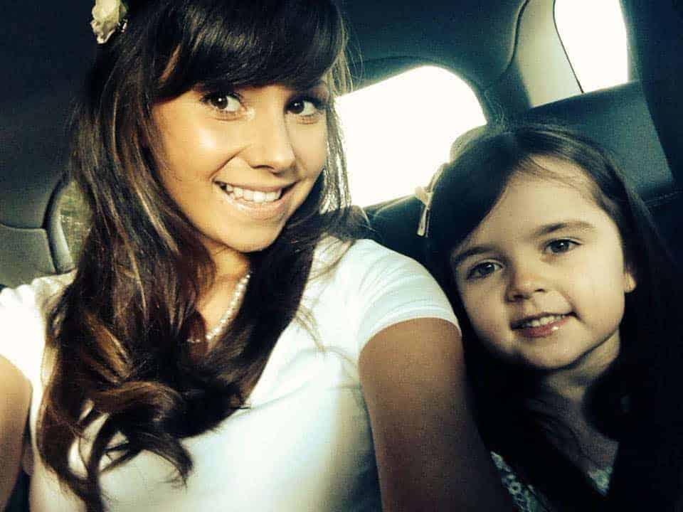 Mi hija Micaela y yo