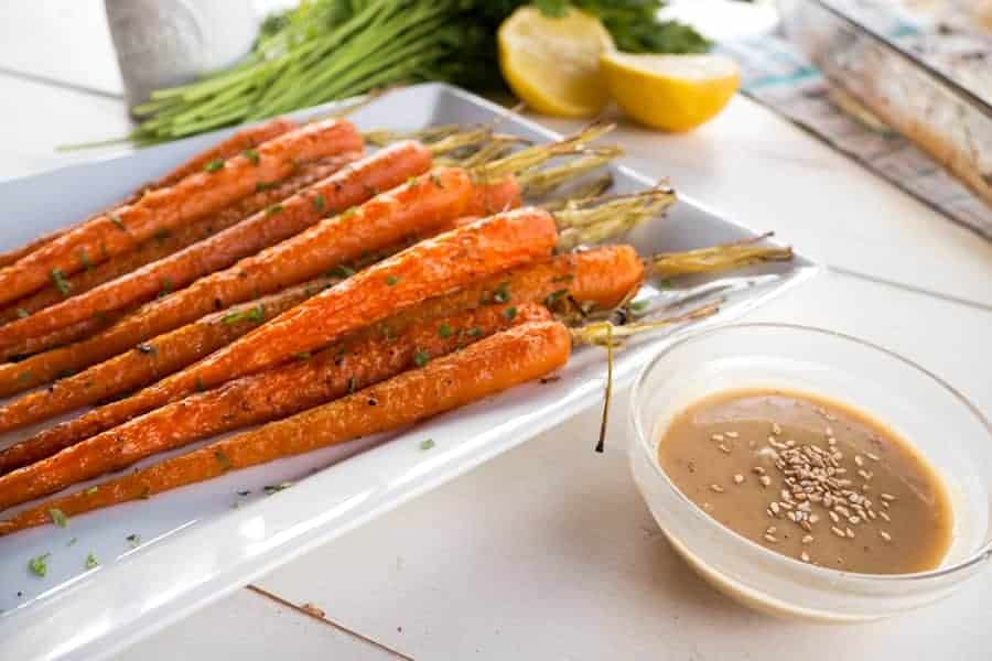 Zanahorias con salsa