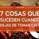 Contra indicaciones cafe