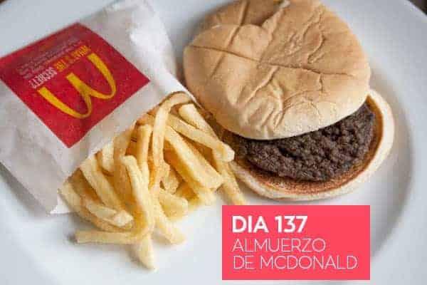 Almuerzo de McDonald - Dia 2
