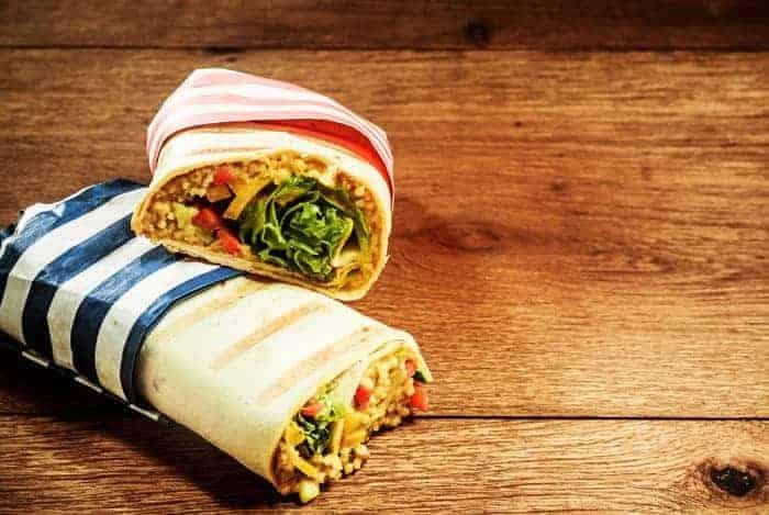 Burritos de quinoa