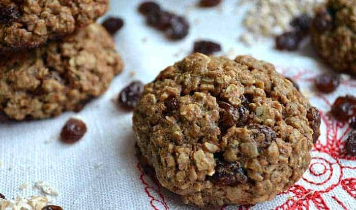 galletas de avena sin harina ni azúcar receta