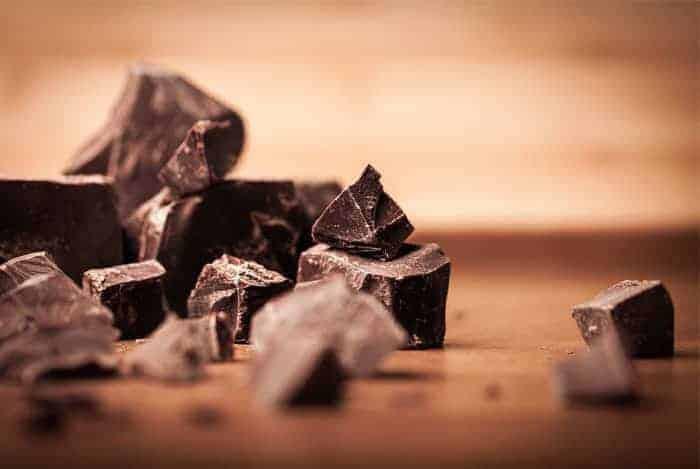 Antioxidantes en el chocolate
