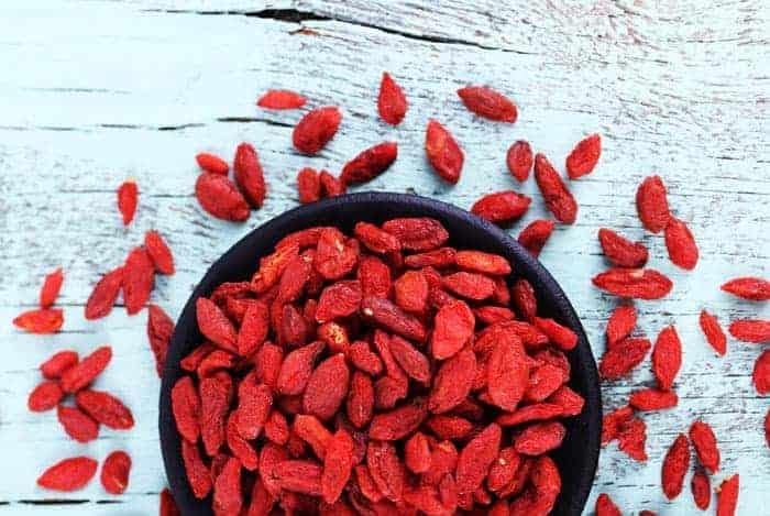 Beneficios bayas de goji