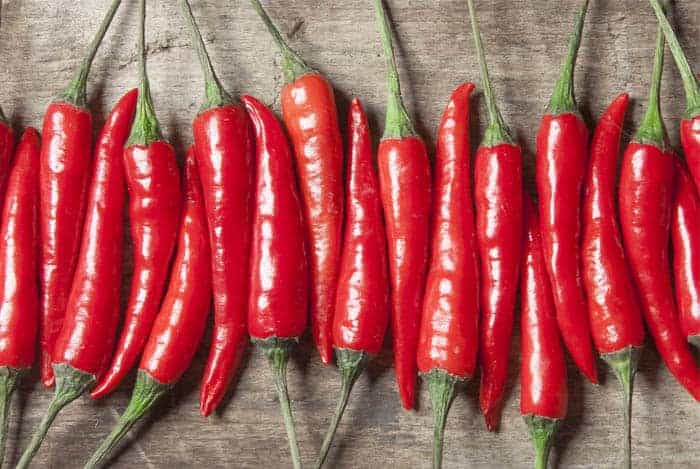 Chiles picantes