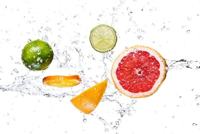 Agua saborizada
