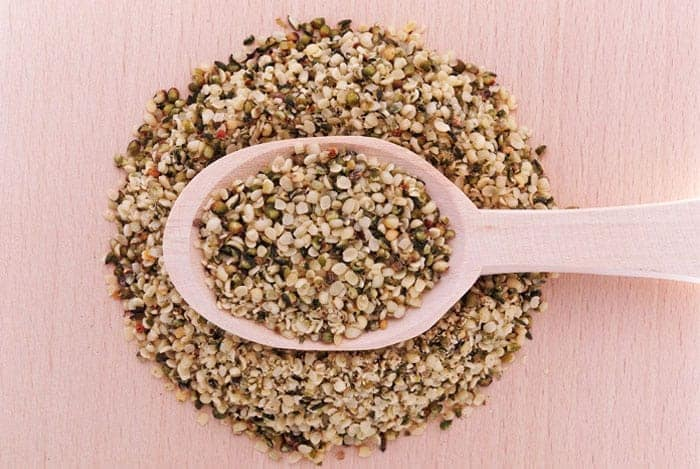 cuchara de semillas
