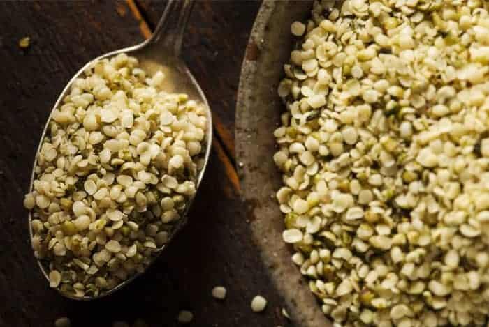 semillas de cañamo sin cascaron