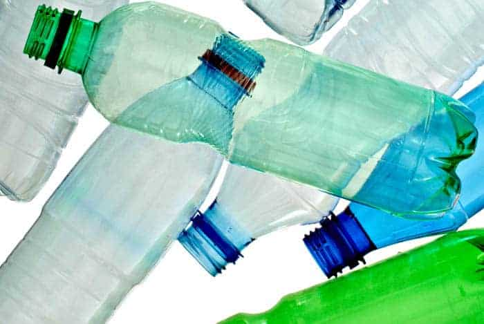 Botellas de gaseosa