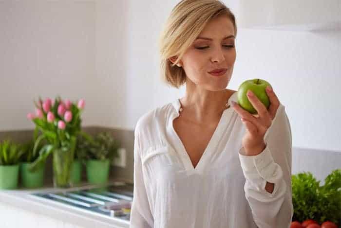 Manzana para el apetito
