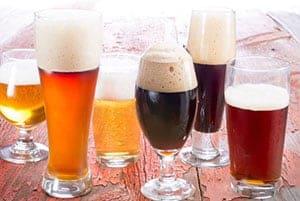 Tipos diferentes de cerveza
