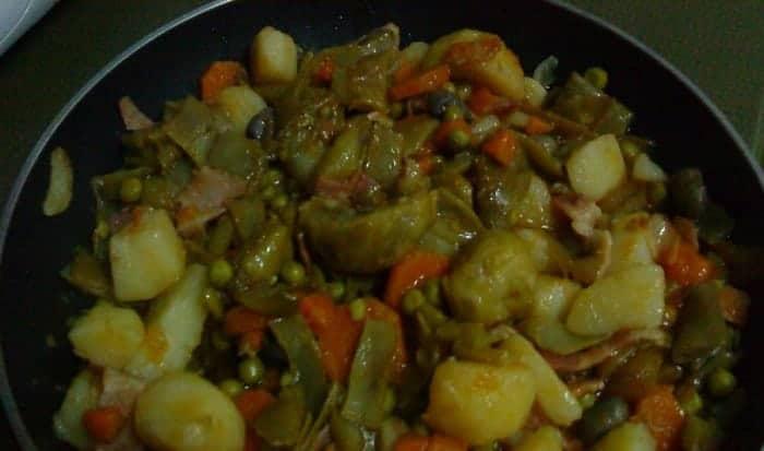 guiso de vegetales
