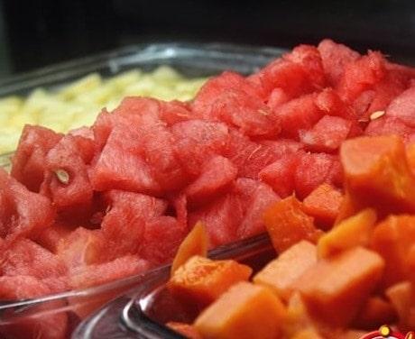 patilla melon preparación