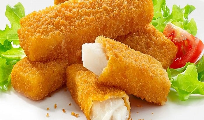 deditos de pescado y queso