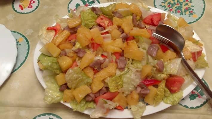 ensalada tropical de pollo y piña tipsnutritivos