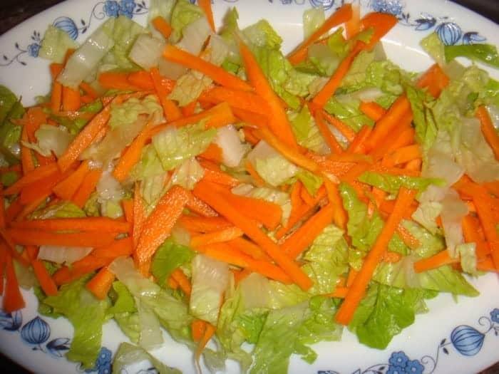 Ensalada de lechuga y zanahorias tipsnutritivos - Ensalada de apio y zanahoria ...
