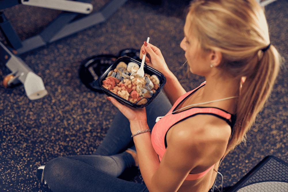 comidas pre y post entrenamiento