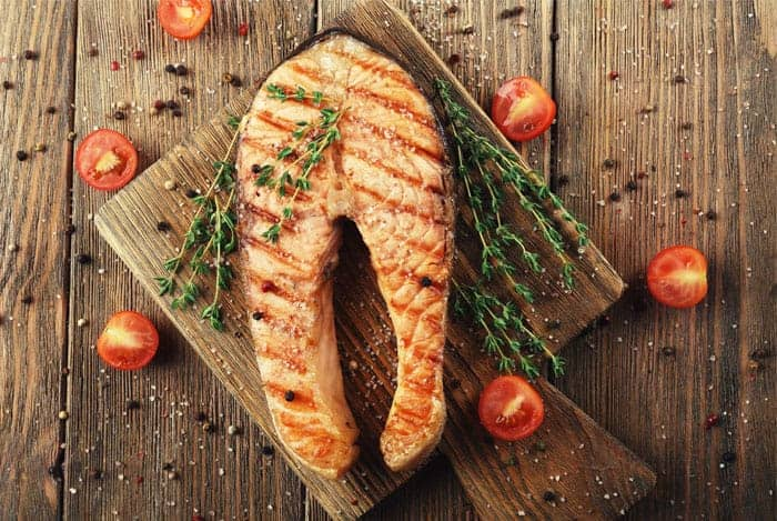 salmon-cocido