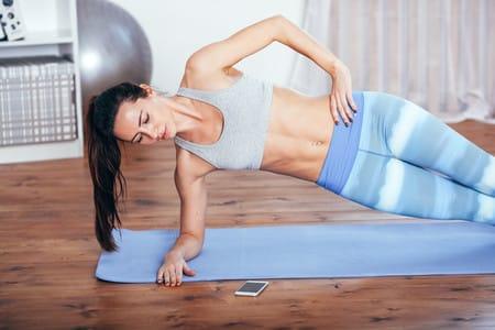 Rutinas de ejercicios para hacer en casa