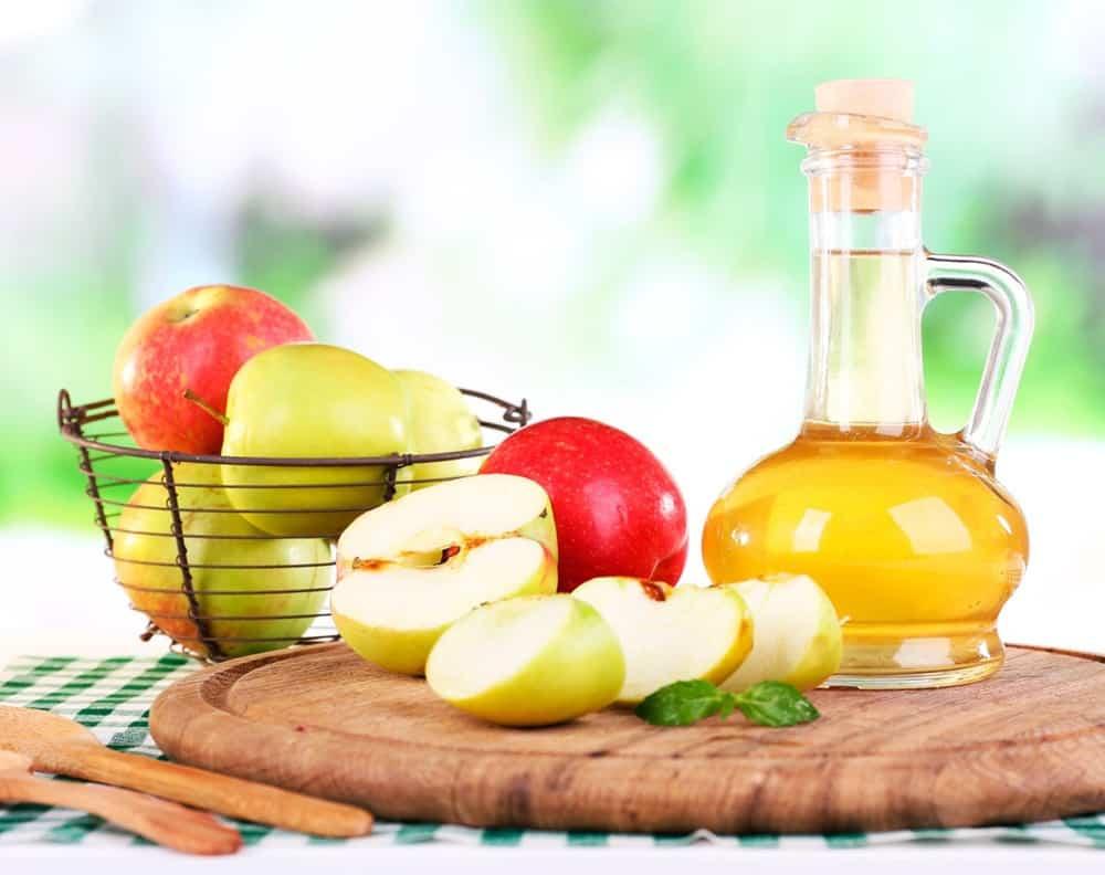 que cura el vinagre de manzana