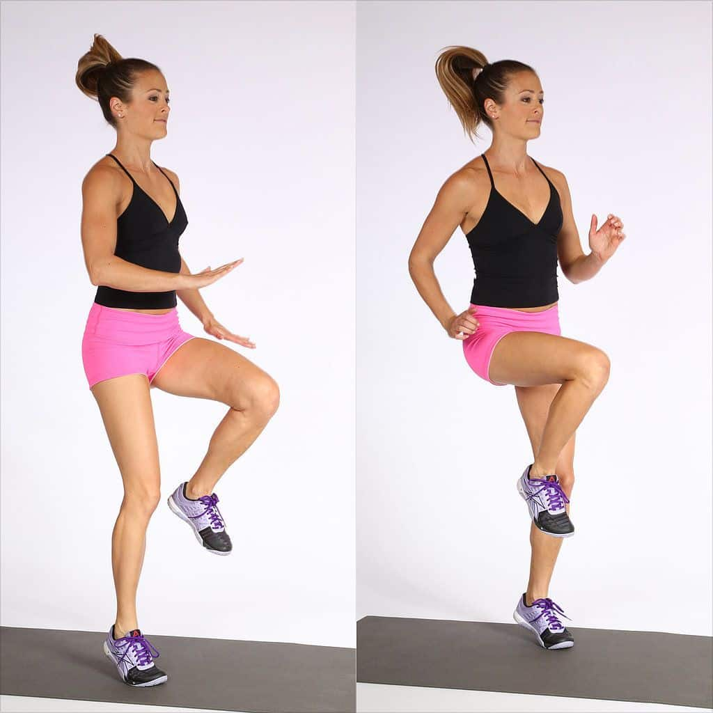 8 ejercicios para piernas en casa